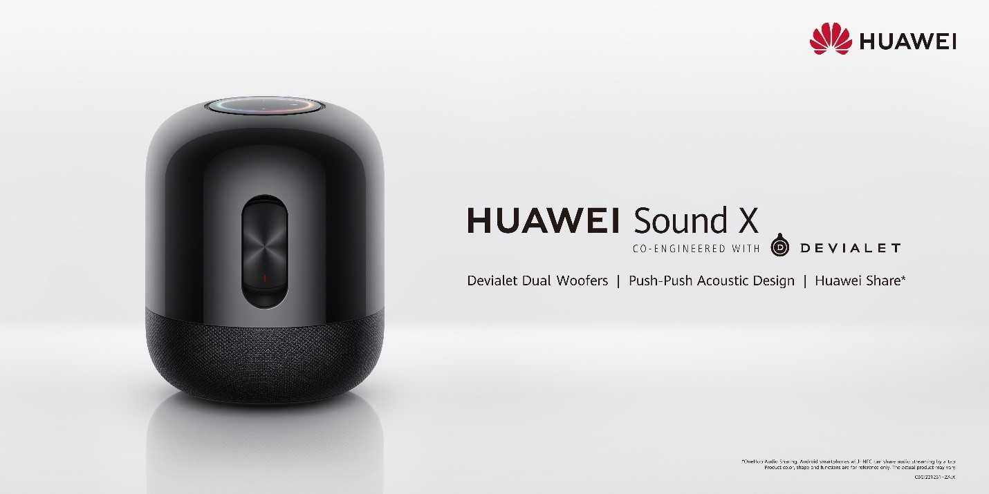 Party Anytime and Anywhere with the HUAWEI Sound X