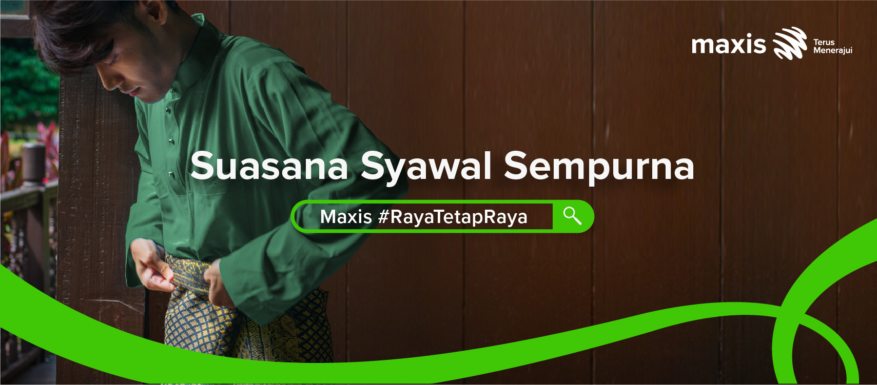 Maxis Hari Raya Campaign Launches With A Twist To Reveal The Perfect Celebration