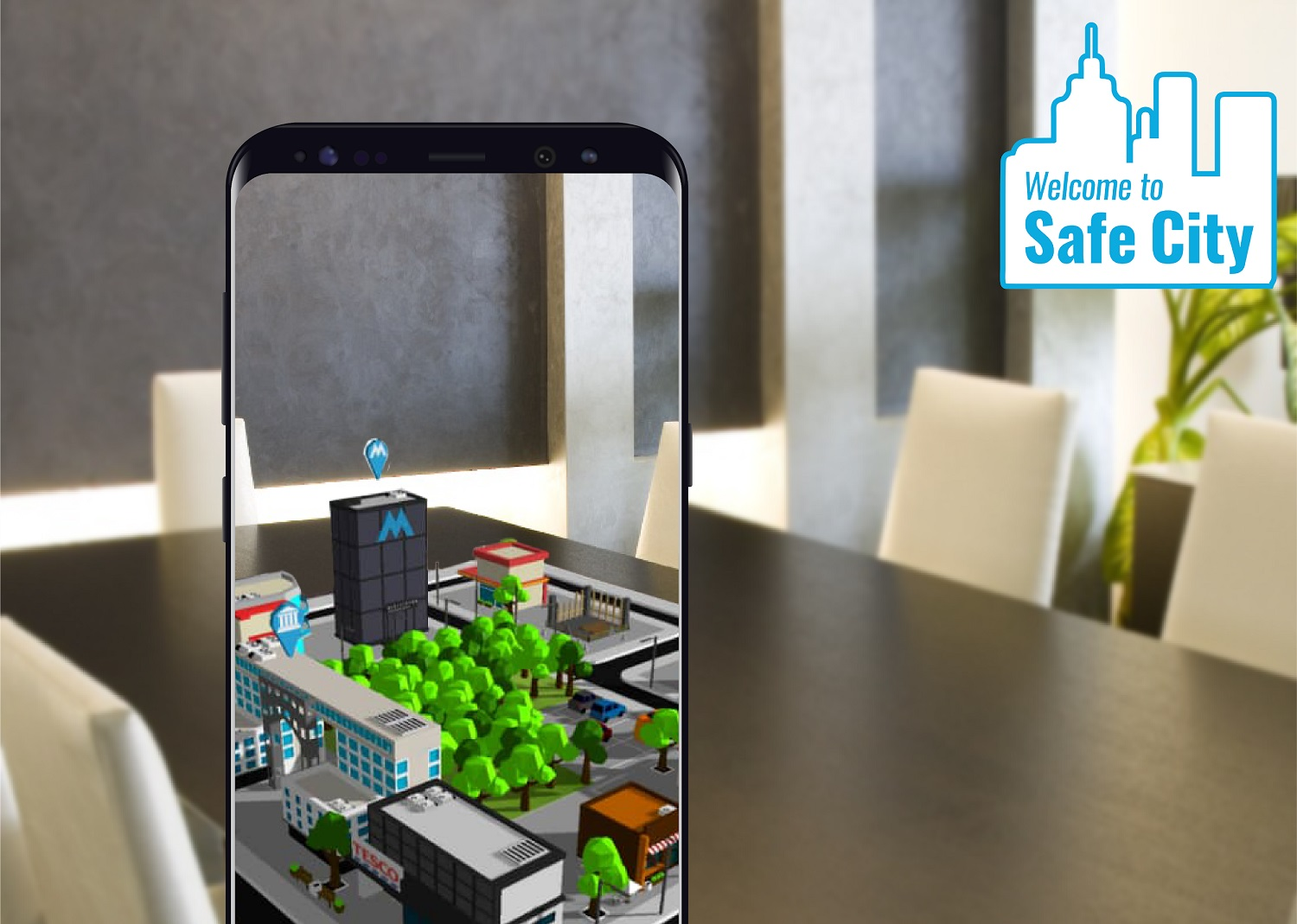 MySafeCity - A WebAR City For The Community