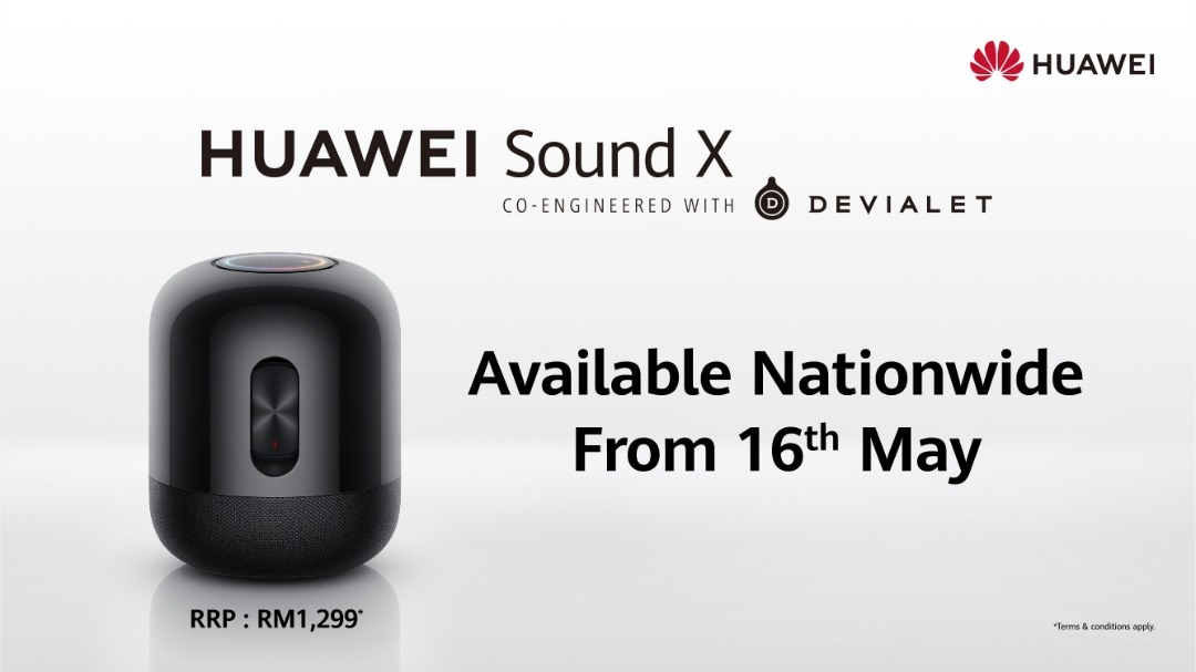 Like, Share and Comment to Win the HUAWEI Sound X