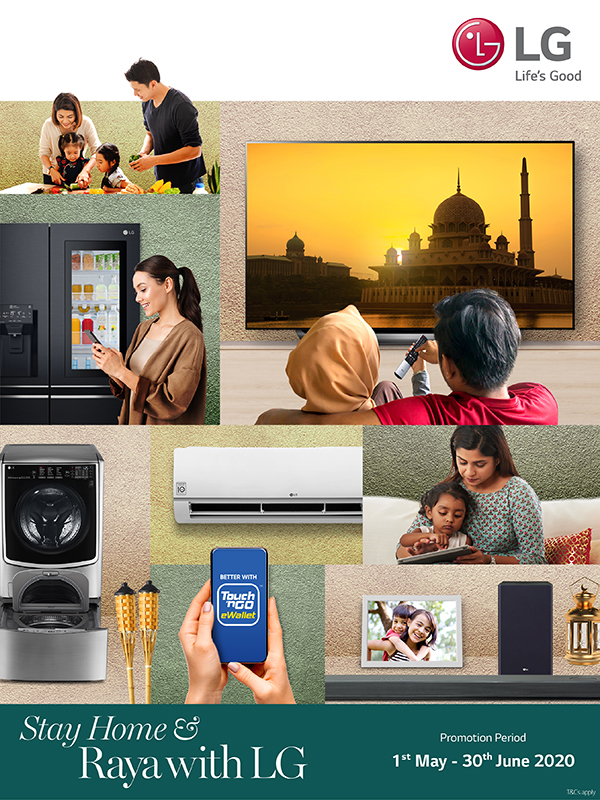 Stay Home & Raya With LG!