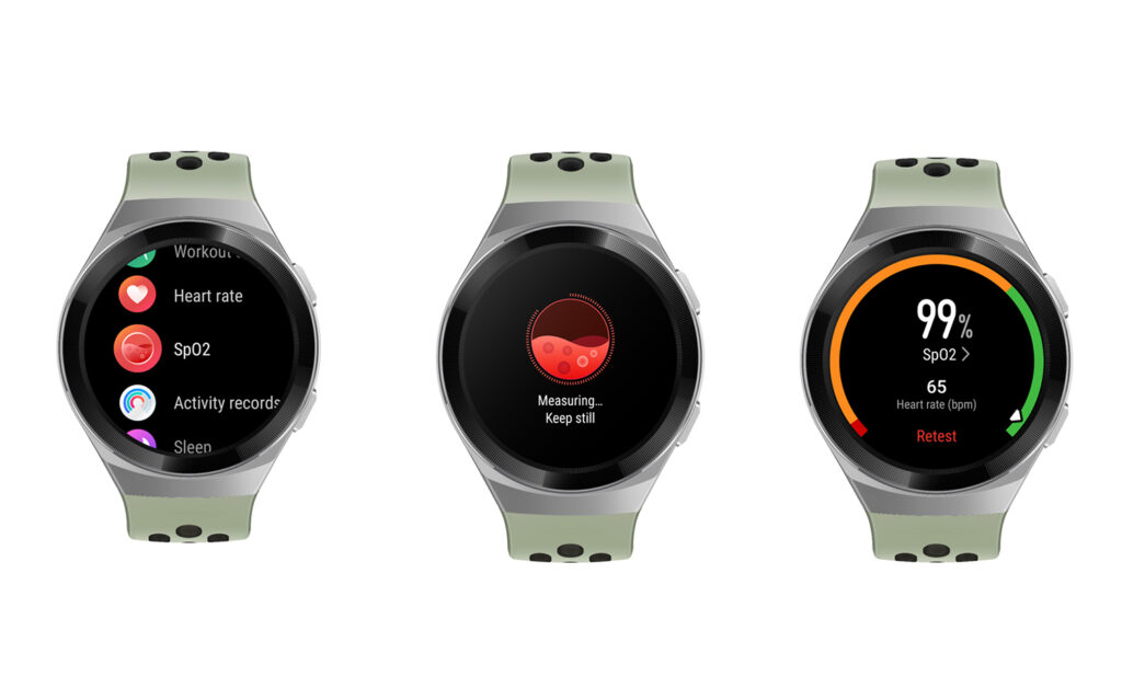 HUAWEI's Latest Update for WATCH GT 2e Helps Monitor Your SpO2 Level with Just a Tap