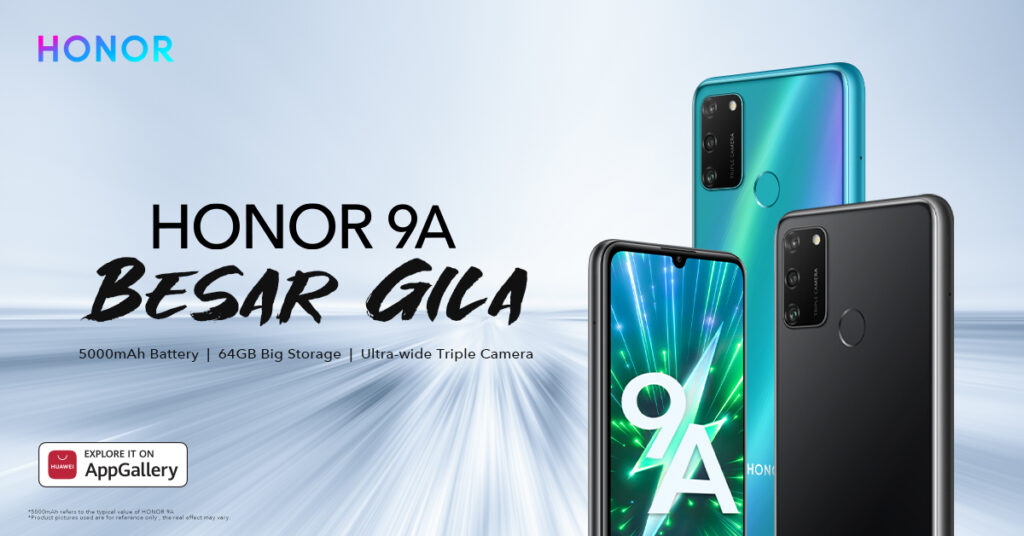 HONOR Launches HONOR 9A, HONOR CHOICE True Wireless Earbuds,