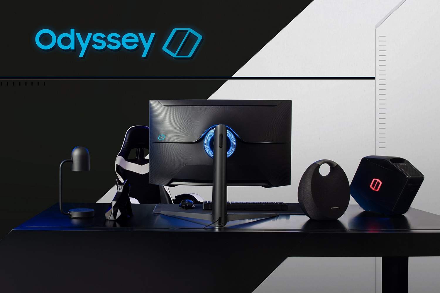 Samsung Odyssey G7 Monitor Range Optimized for Gamers
