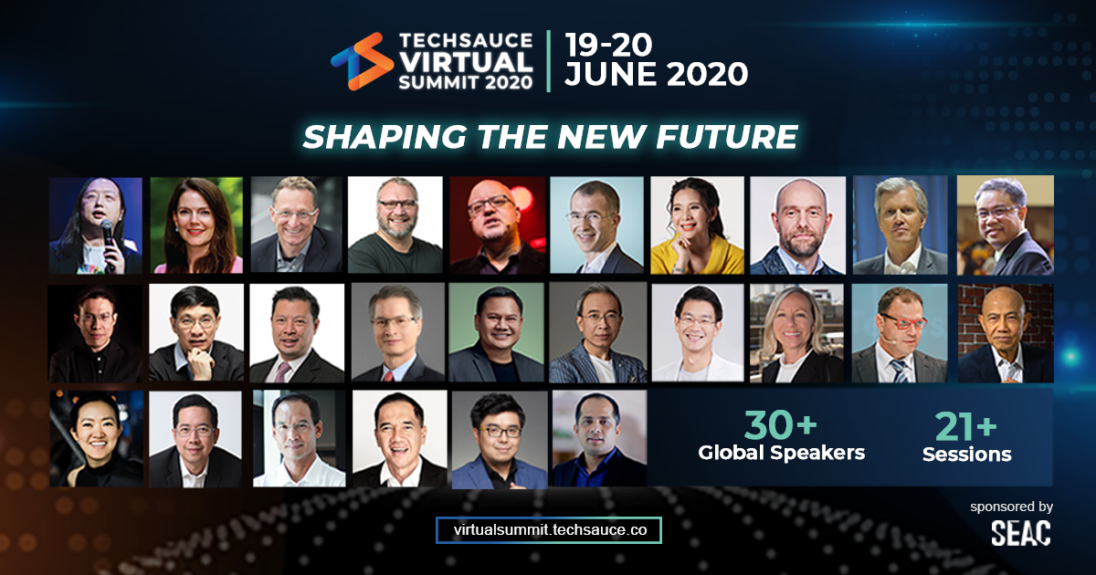 Let the Tech Begin! Techsauce Virtual Summit 2020 Kicks Off