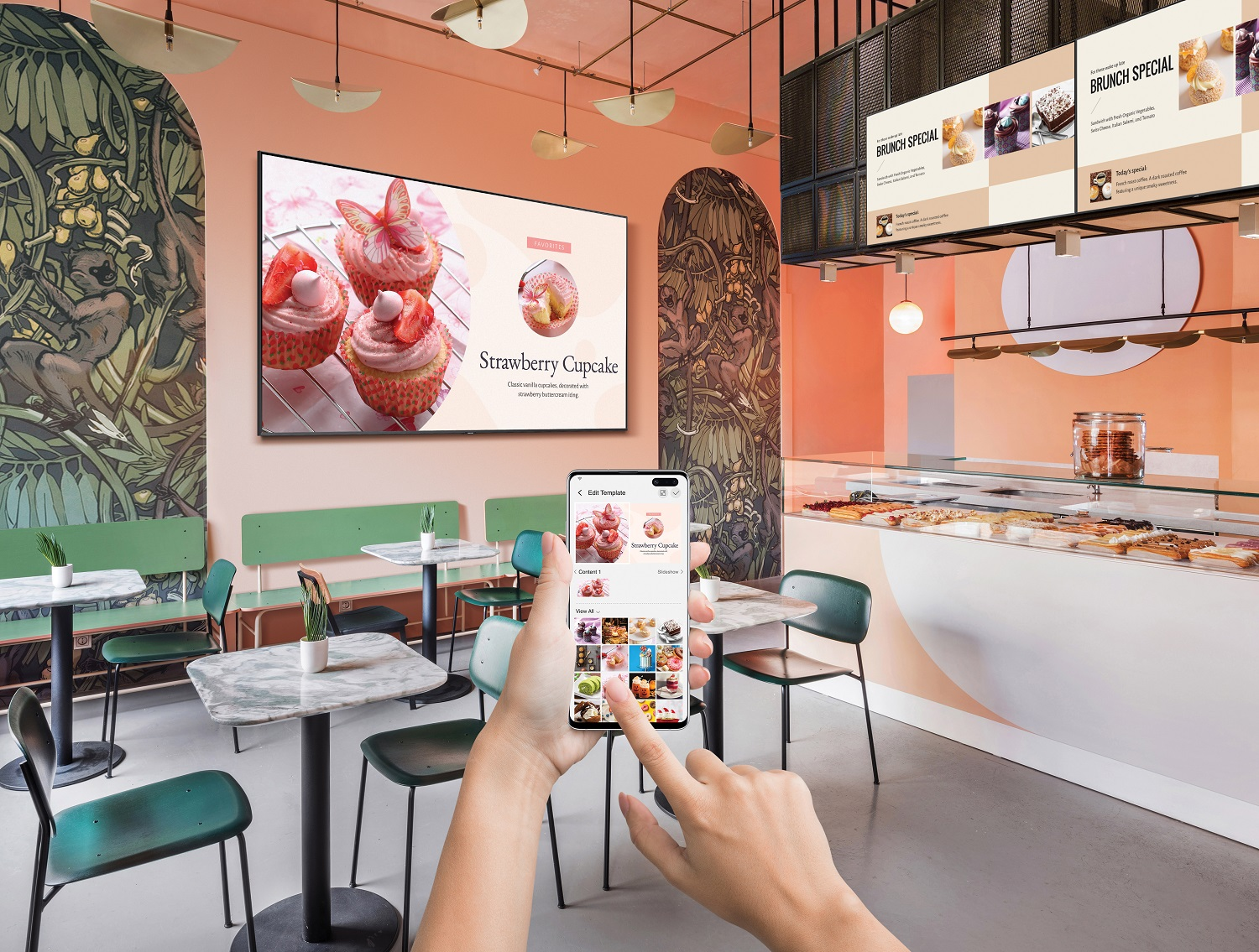 Samsung Unveils 'Business TV' - An Intuitive Display Built for Small Business