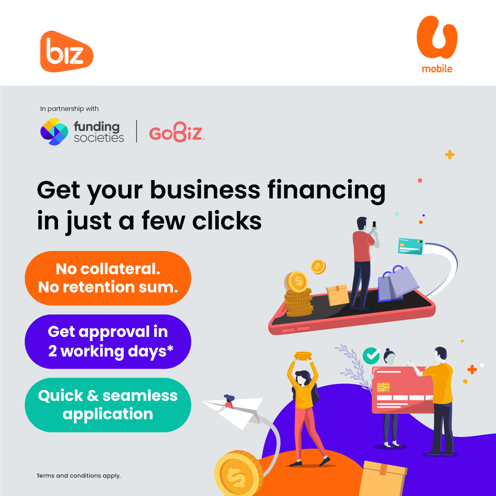 U Mobile and Funding Societies Join Forces to Offer P2P Business Financing for SMEs via GoBiz