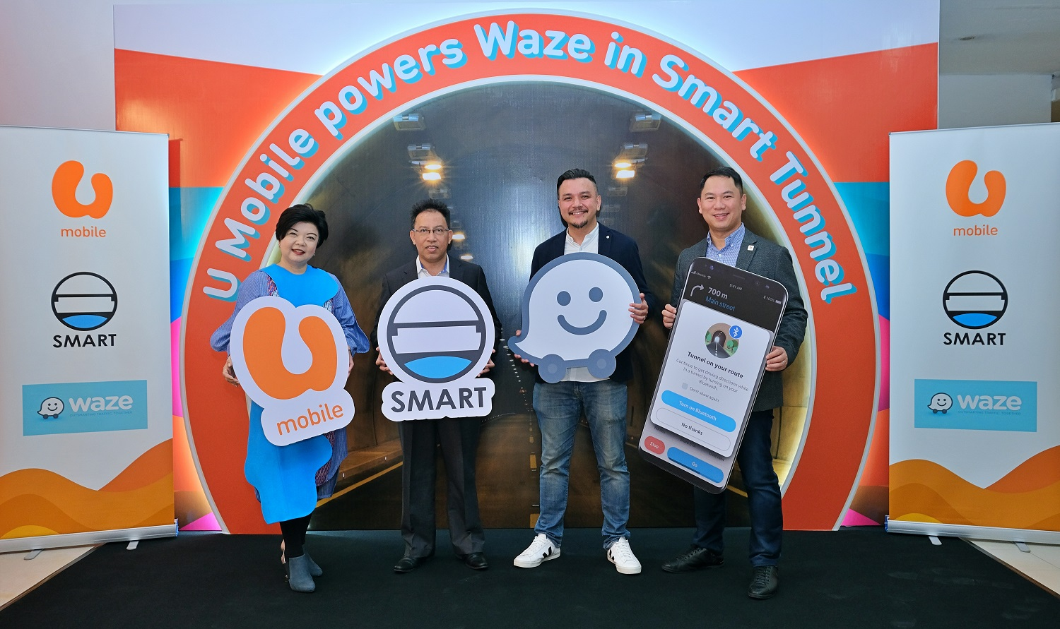 U Mobile Is The First Telco To Power Waze In Smart Tunnel
