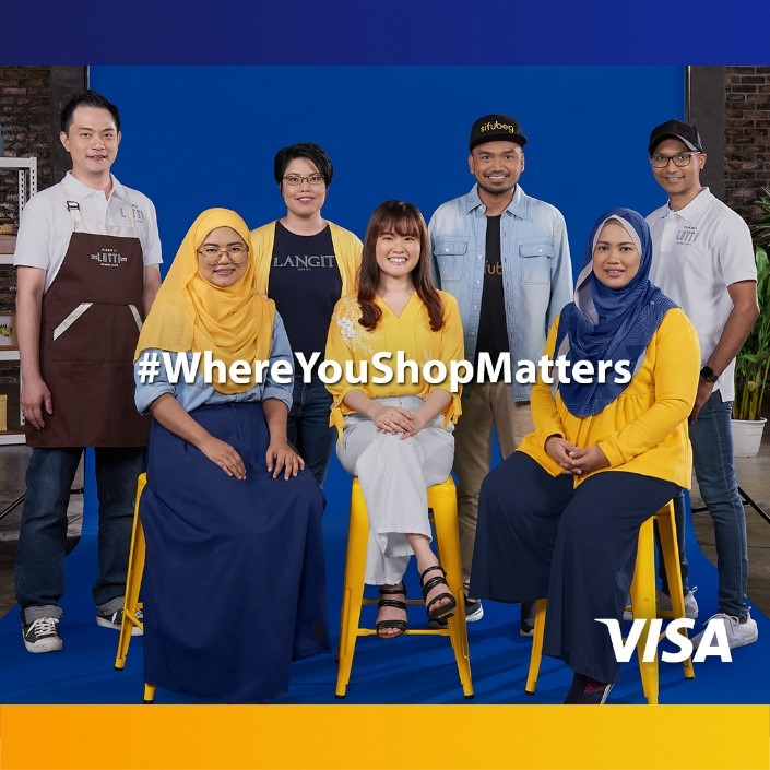Visa Launches 'Where You Shop Matters' Campaign to Help SMEs Go Digital