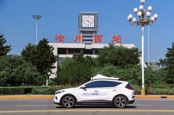 Baidu Opens Apollo Go Robotaxi Service to the Public in Cangzhou