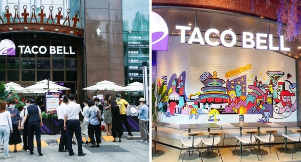 Yum China Opens Taco Bell Store in Beijing
