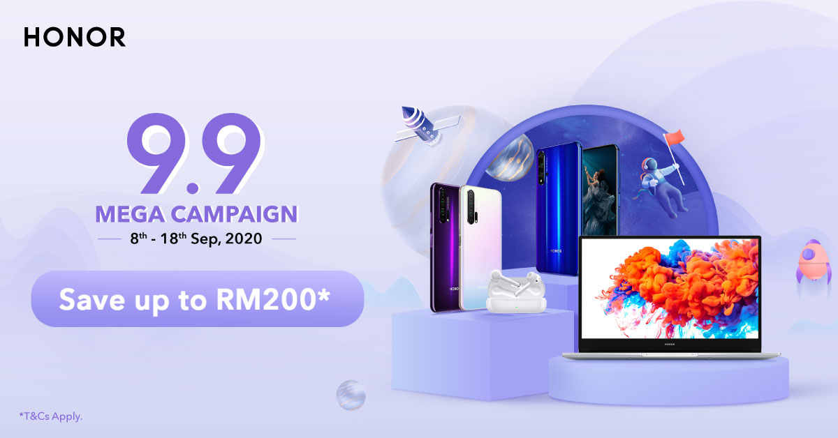 11 Days of Amazing Deals with HONOR 9.9 Mega Campaign