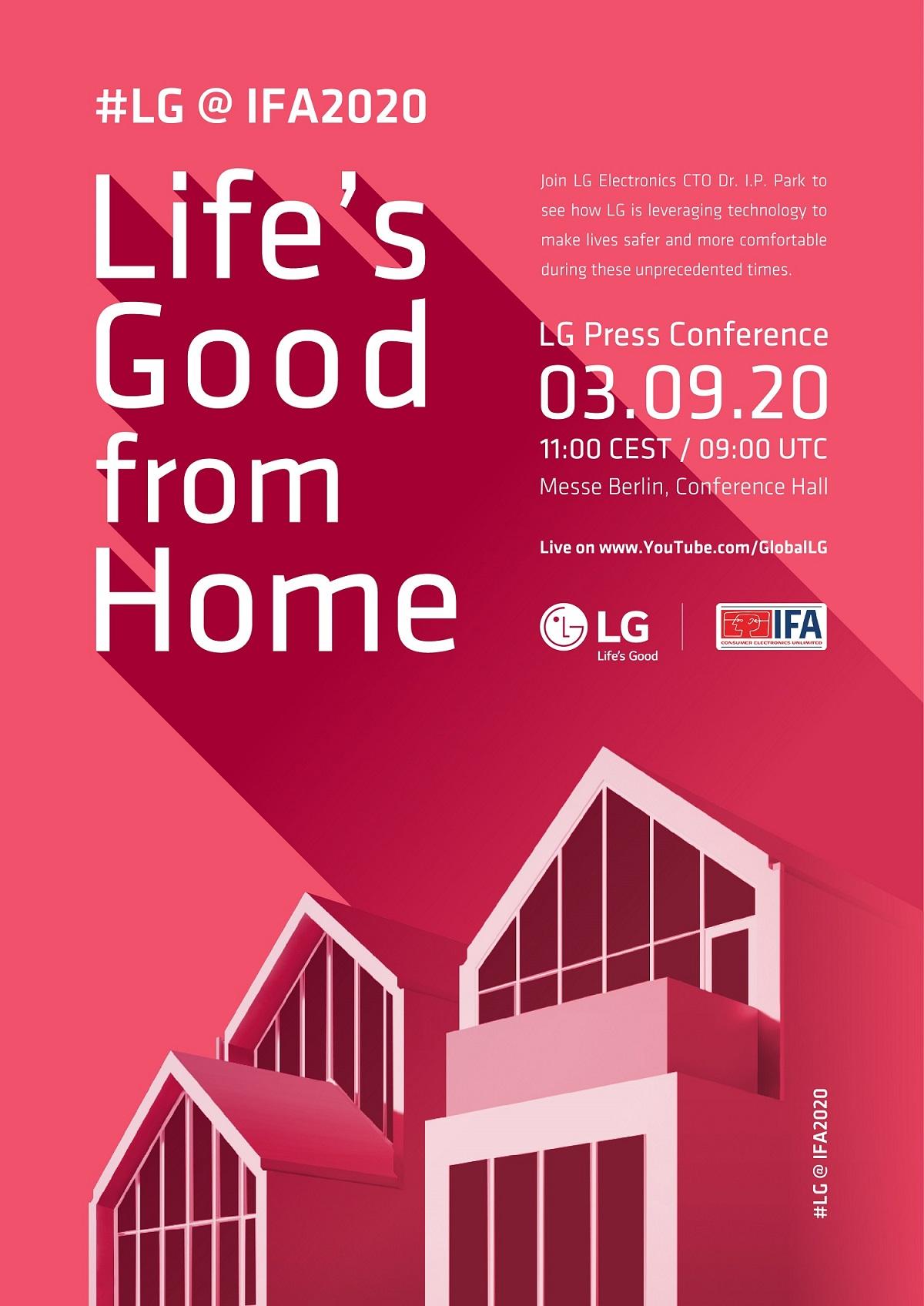 LG Invites Consumers Around the World to IFA 2020 Online