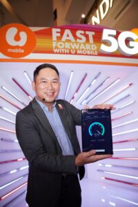 U Mobile Invites Customers To Fast Forward With 5G At Country's First Consumer Live Trial