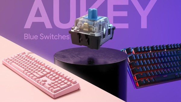 AUKEY Launches New Mechanical Gaming Keyboards