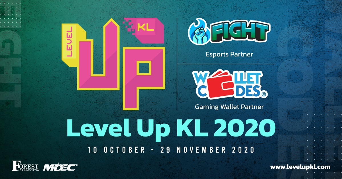Wallet Codes and FIGHT Return as Partners at Level Up KL 2020
