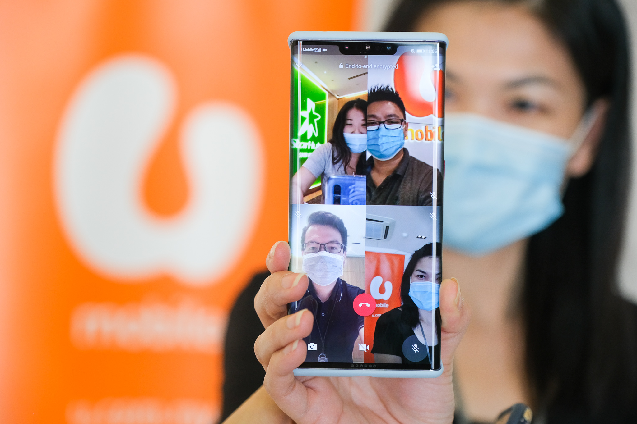 U Mobile And Starhub Successfully Complete 5G Standalone Multi-Party Cross-Border Video Call