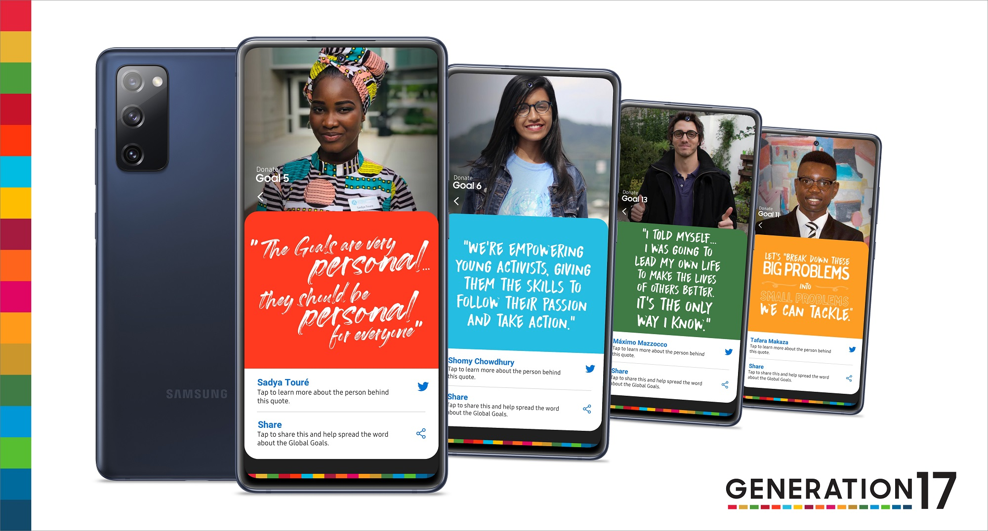 Samsung and the United Nations Development Programme Partner With Youth to Accelerate Progress for the Global Goals