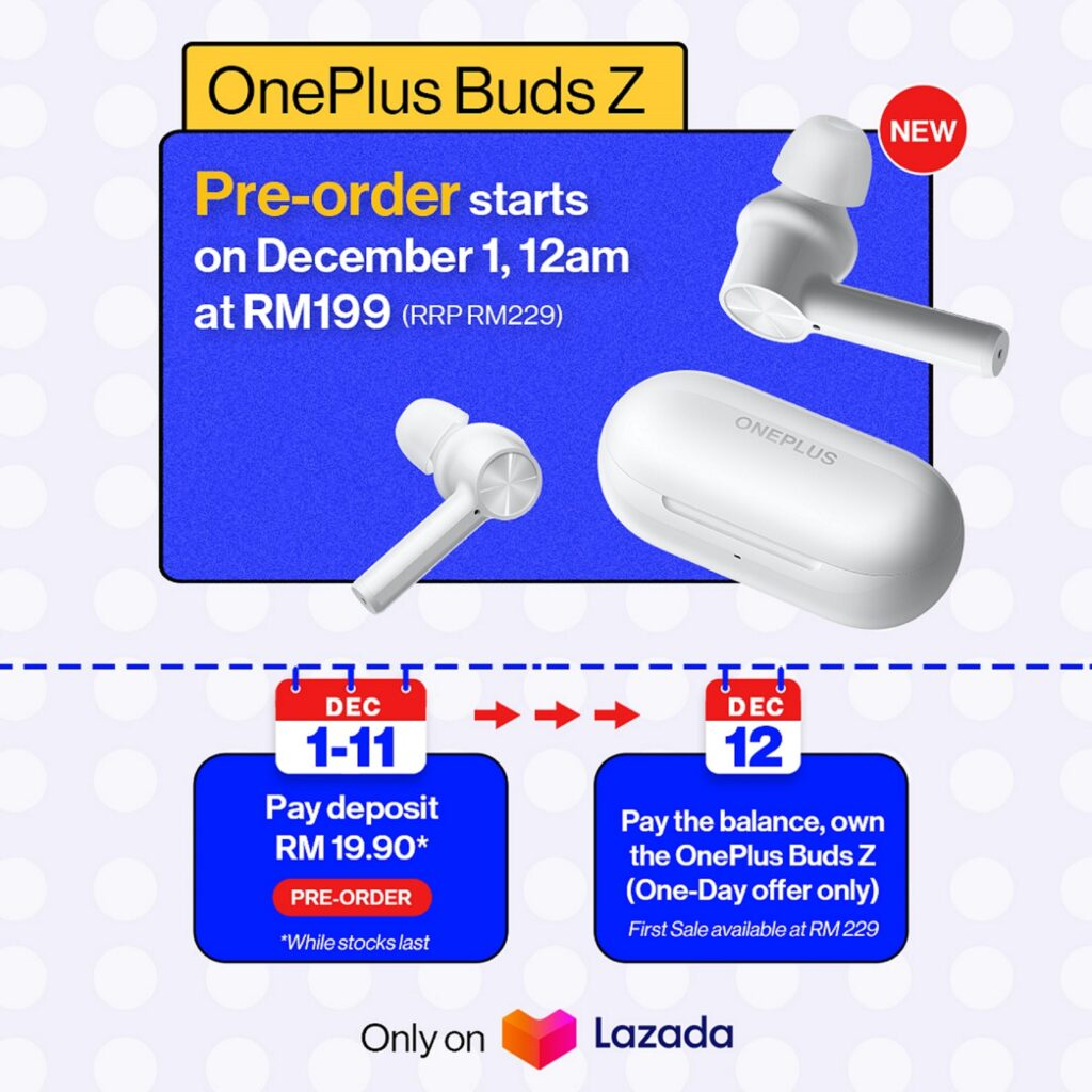 Set Your Music Free With OnePlus Buds Z