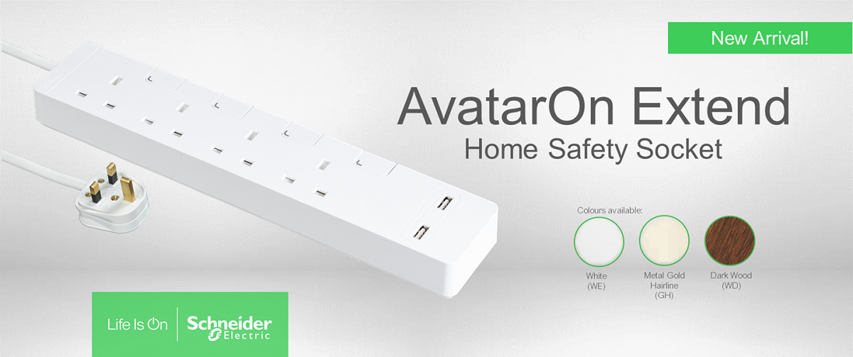 Celebrate This 11.11 With Schneider Electric's New AvatarOn Extend