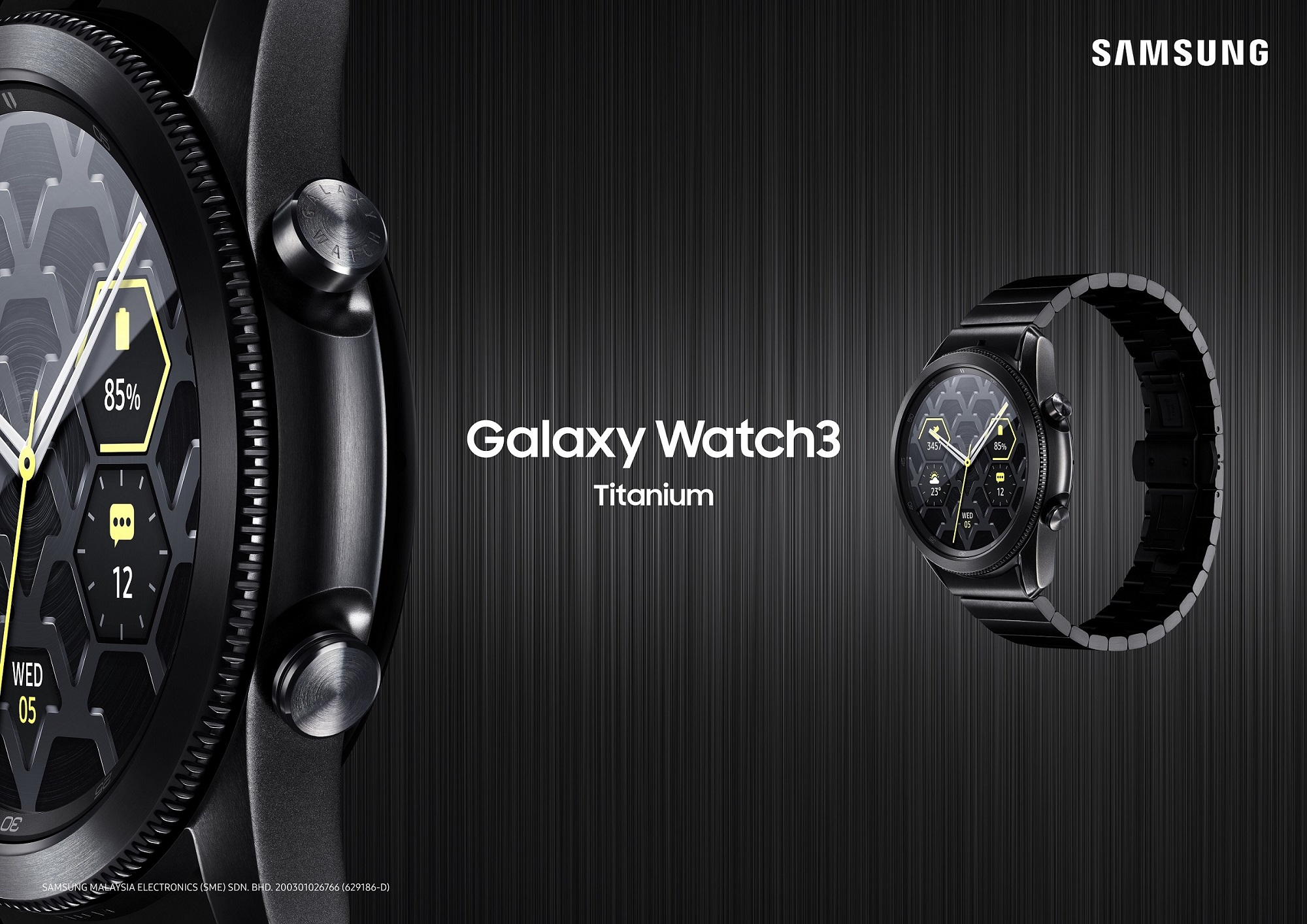 Samsung Launches Galaxy Watch3 Titanium - Merging Luxury with Durability