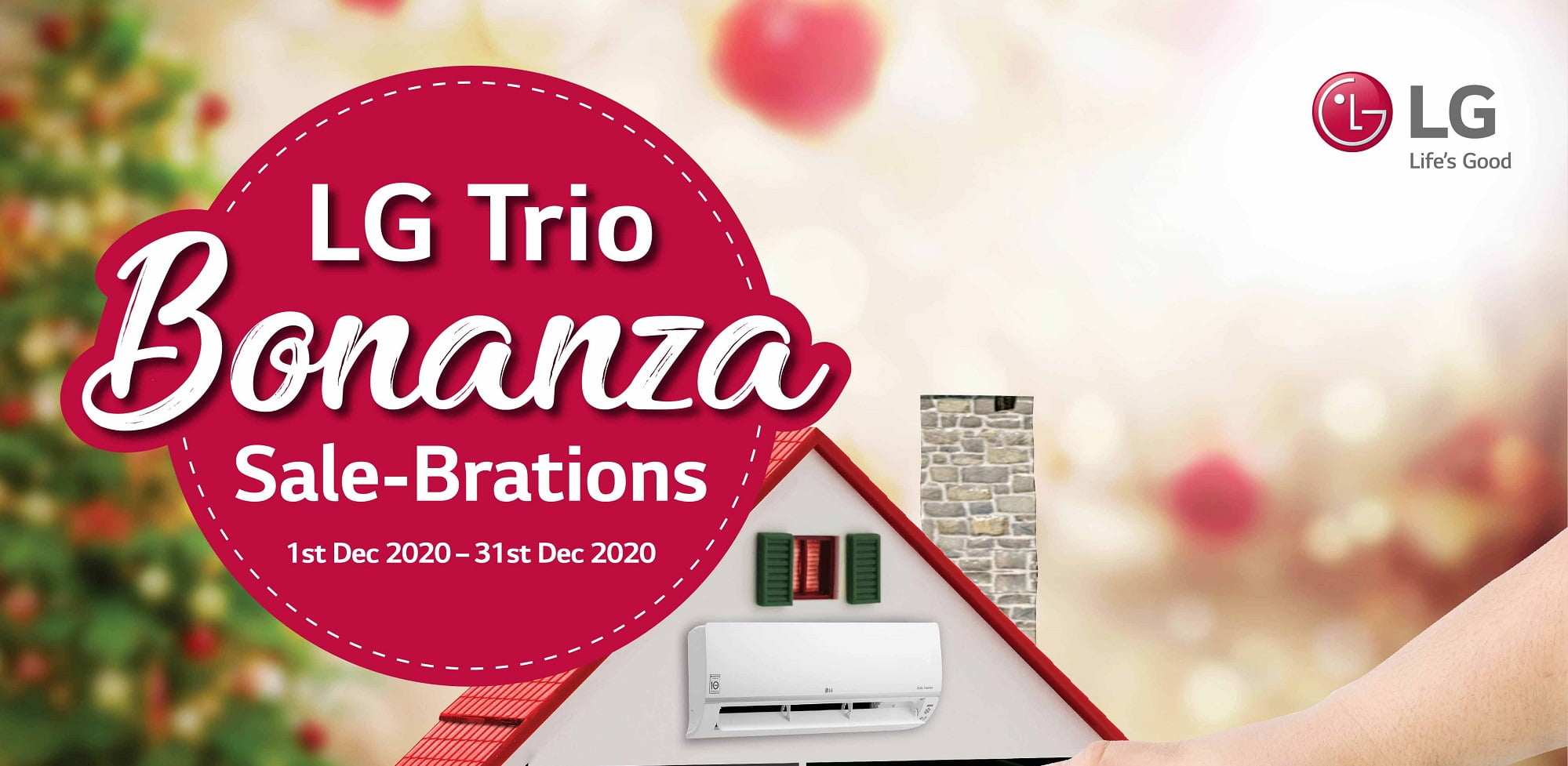 Say Y.E.S to LG Trio Bonanza with Remarkable Deals Up to 40% Off