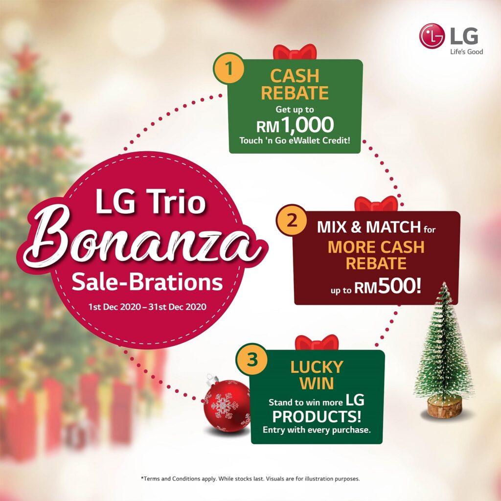 LG Trio Bonanza Y.E.S (Year-End Sale)