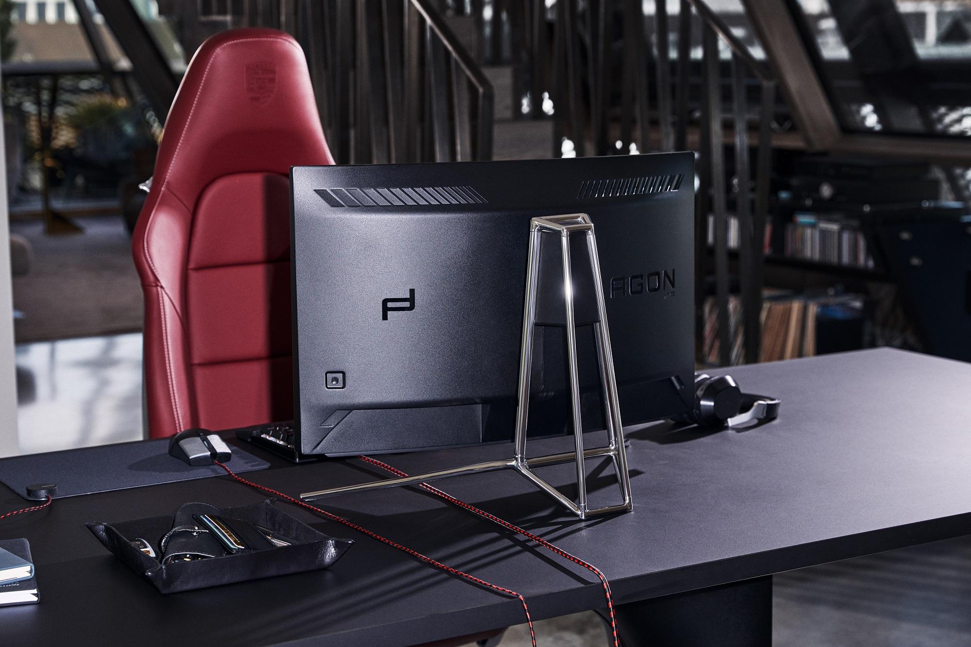 Porsche Design and AOC unveil the Porsche Design AOC AGON PD27