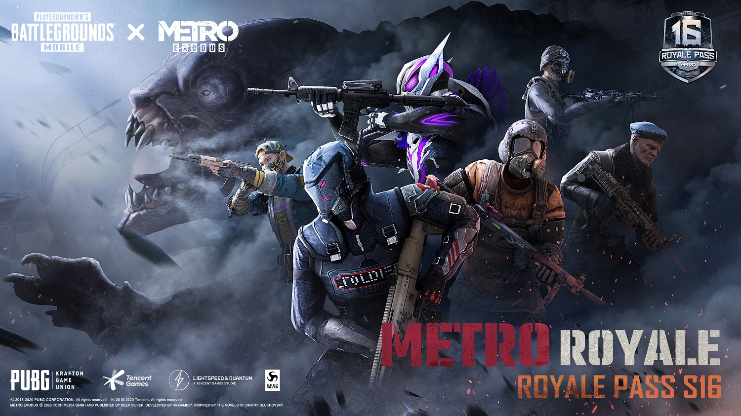 PUBG Mobile Teams with Metro Exodus for First Ever Co-branded Royale Pass Season 16
