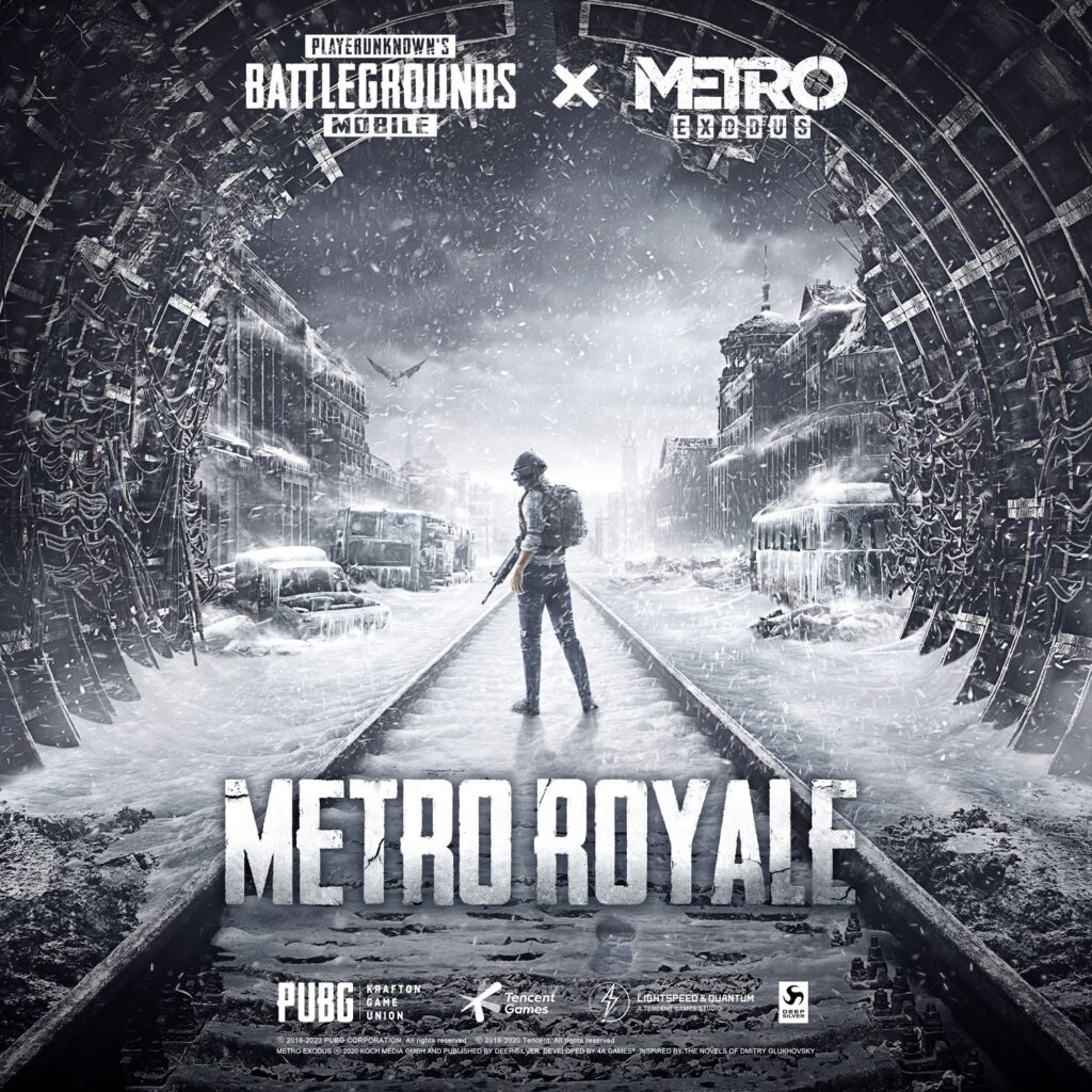 PUBG Mobile Launched Metro Exodus Collaboration With New Metro Royale Mode