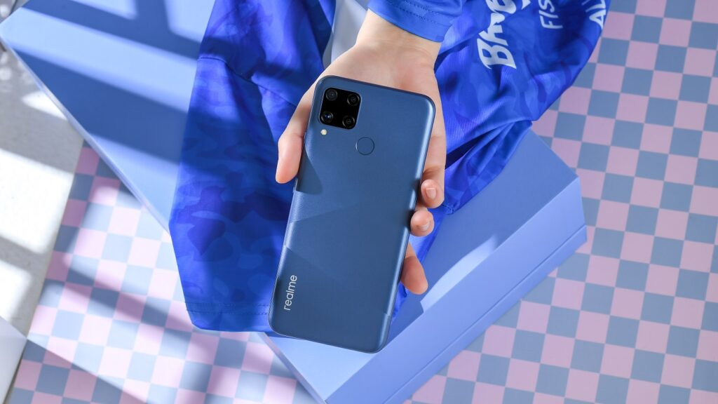 realme C15 Adopts 6000mAh Mega Battery With 18w Quick Charge