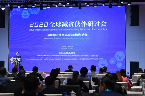 China.org.cn: Seminar calls for global poverty reduction innovation, cooperation amidst pandemic