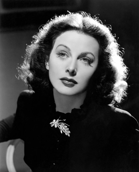 Hedy Lamarr, Austrian-born Hollywood actress and inventor of early secure systems. Hedy Lamarr, Donaldson Collection/Michael Ochs Archives via Getty Images, used with Permission from the Estate of Hedy Lamarr www.CMGworldwide.com