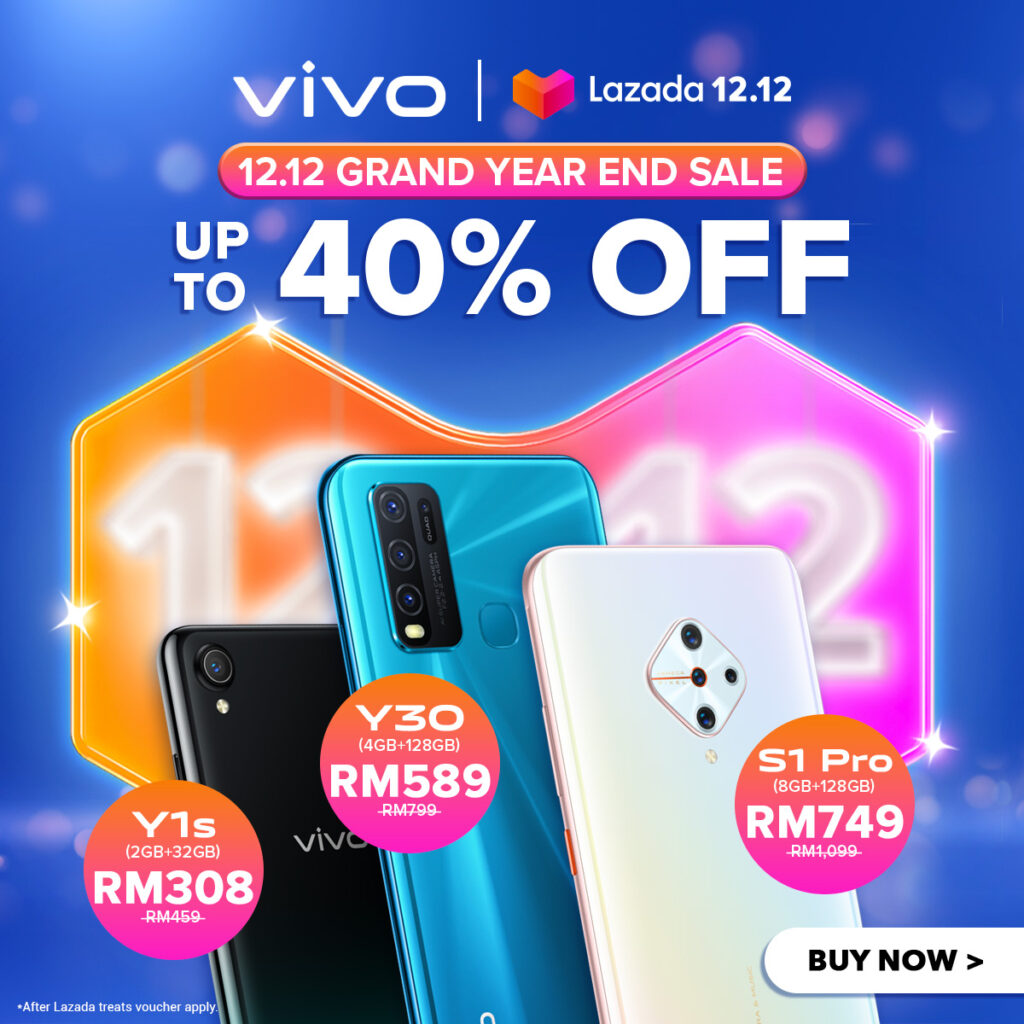 Get Ready for The Year-End Shopping Spree With vivo Malaysia
