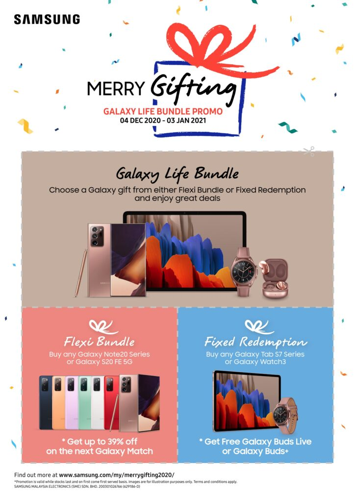 Make Their Year, Merry Gifting With Galaxy