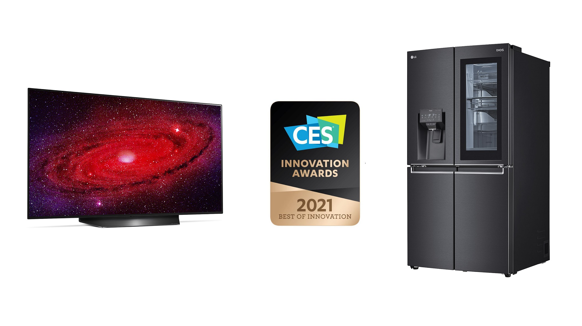 LG Honoured with 2021 CES Innovation Awards