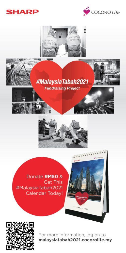 Sharp Announces Malaysia Tabah 2021 Fundraising Initiative to Honour Frontliners