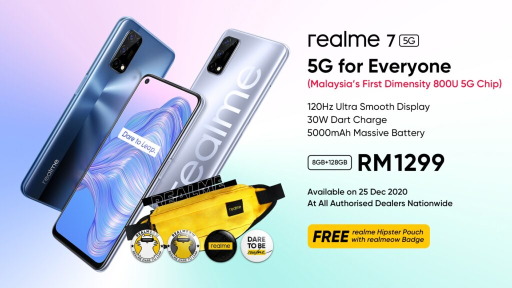 realme Launched Its Latest 5G Smartphone, Realme 7 5G For Everyone