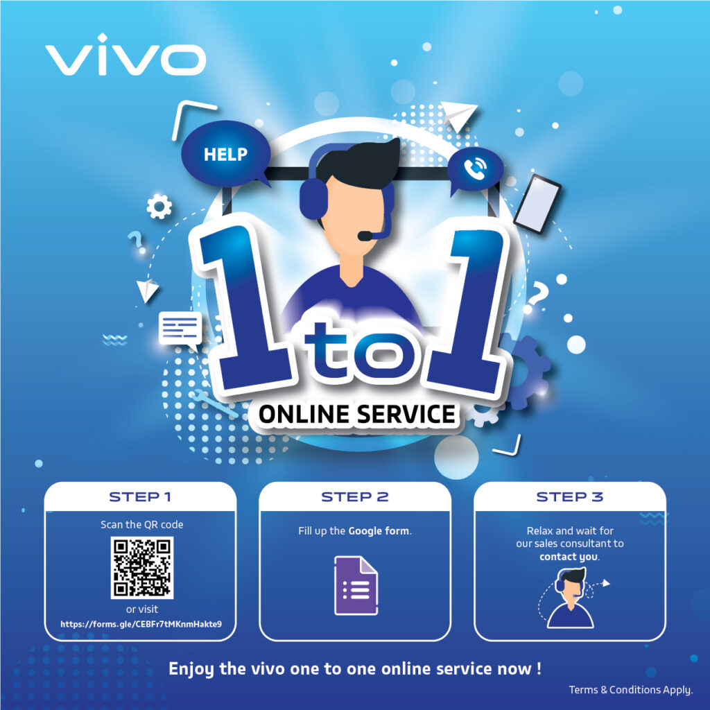 vivo Malaysia Launches a Personalised Online Service to Customers For a Worry-Free Shopping Experience