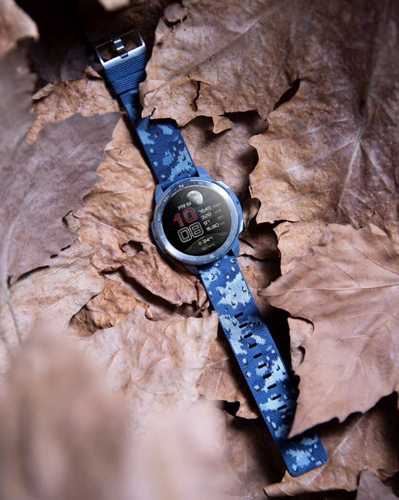 The HONOR Watch GS Pro is Now Available in Camo Blue