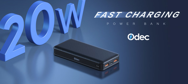 Odec Releases 20W Fast Charging Power Bank That Supports iPhone 12