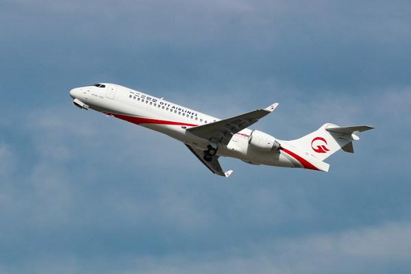 OTT Airlines makes maiden flight from Shanghai to Beijing