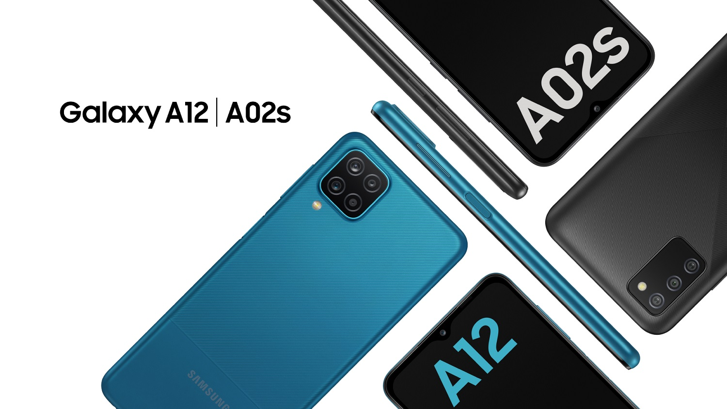 Samsung Introduces the New Galaxy A12 and Galaxy A02s