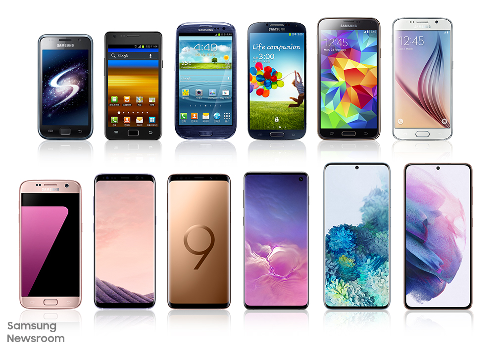 From AMOLED to Space Zoom: Looking Back at the Galaxy S Series' History of Innovation