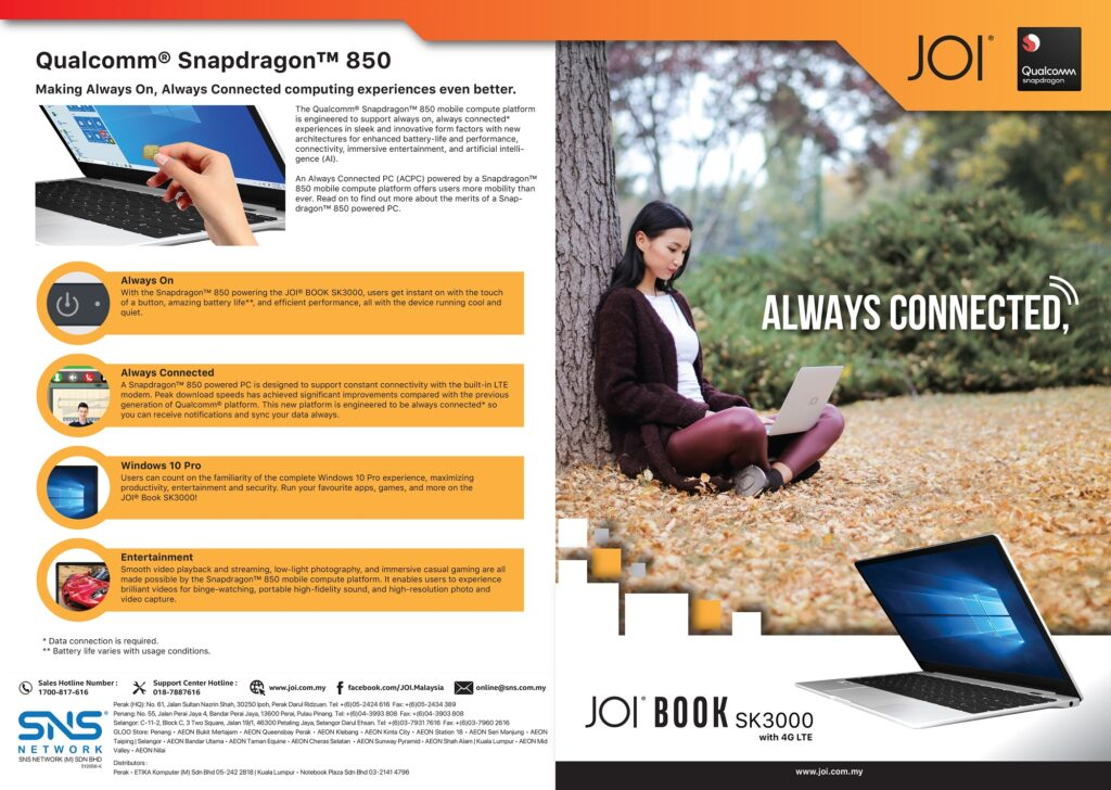 JOI Book SK3000 Now Available for Pre-Order