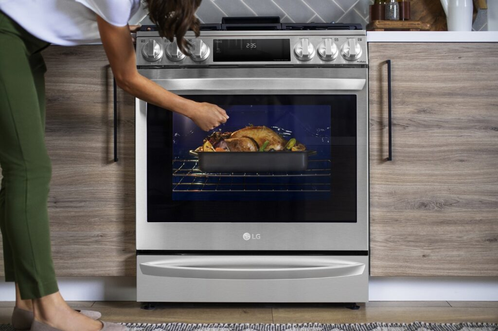 LG's InstaView® Range with Air Sous Vide