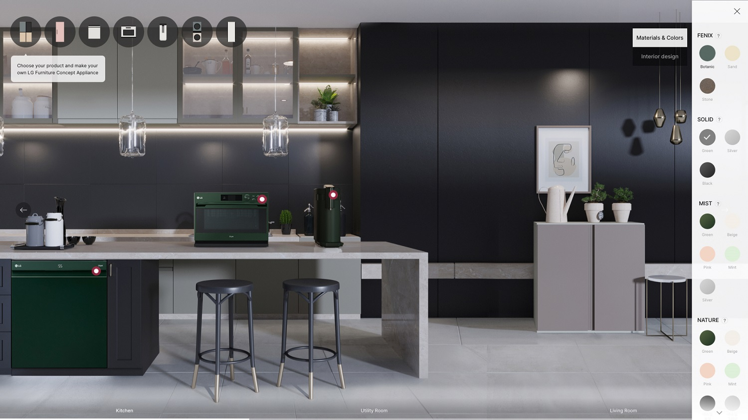 LG Furniture Concept Appliances Debuts at CES 2021