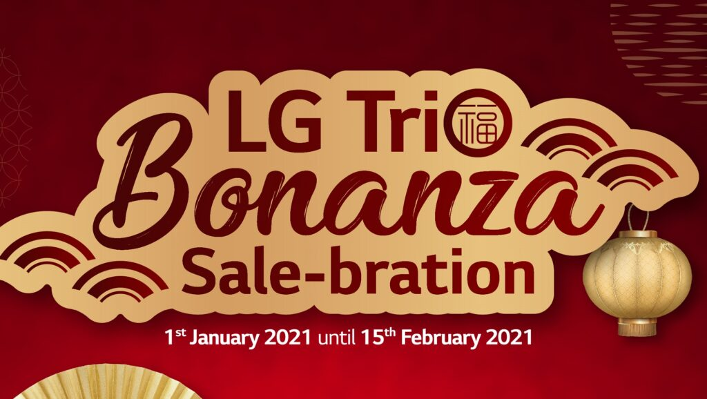Usher in prosperity with LG Electronics' Trio Bonanza Sale-bration