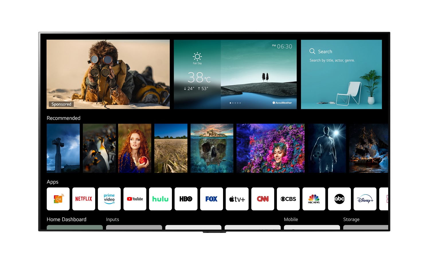 LG webOS 6.0 Smart TV Platfrom Designed for How Viewers Consume Content Today