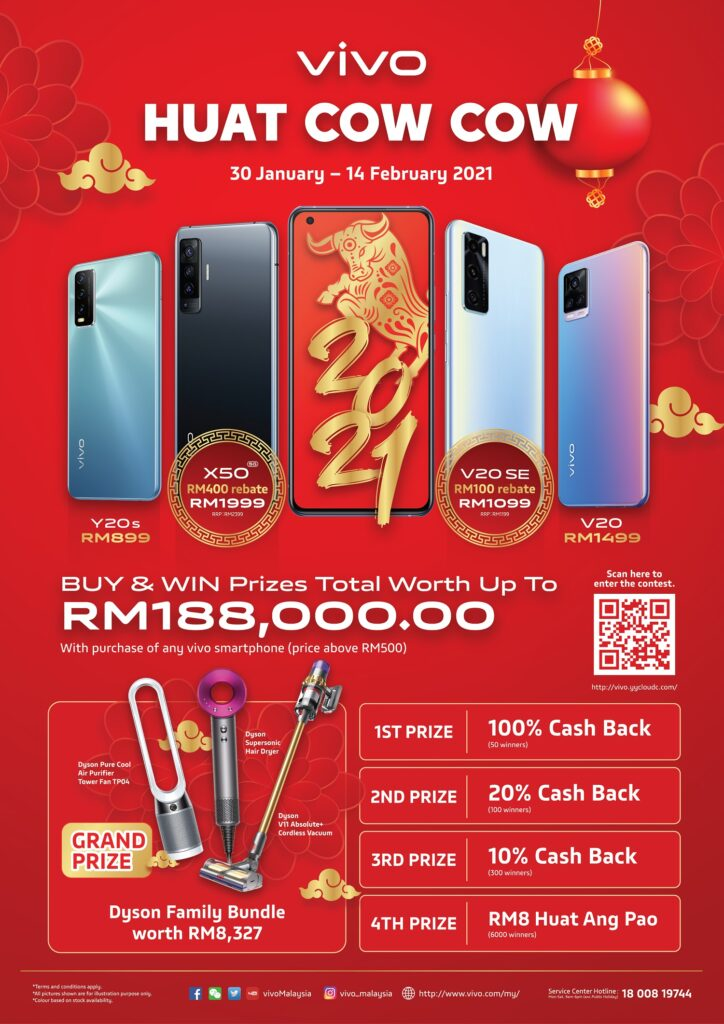 HUAT COW COW Deals from vivo Malaysia